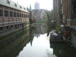 11.Los canales en Gante